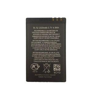 Image 2 - Dinto 1pc 1320mAh BL 5J BL5J BL 5J טלפון סוללה עבור נוקיה 5230 5233 5800 3020 XpressMusic N900 C3 lumia 520 525 530 5900