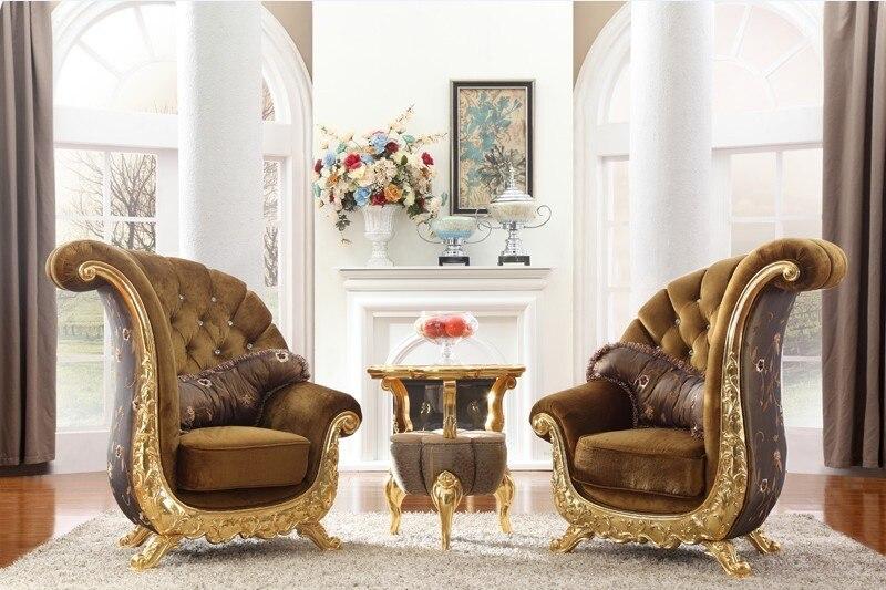 European Classical Sofa Chair for  Living Room Stool Chair Wooden Stool living room stool bedroom computer chair