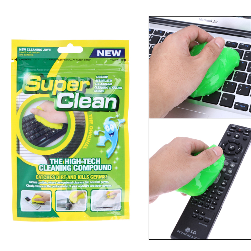 Brand New Practical Magic Innovative Super Dust Clean High Tech Cleaning Compound Slimy Gel For Cyber Computer Hot Selling 13
