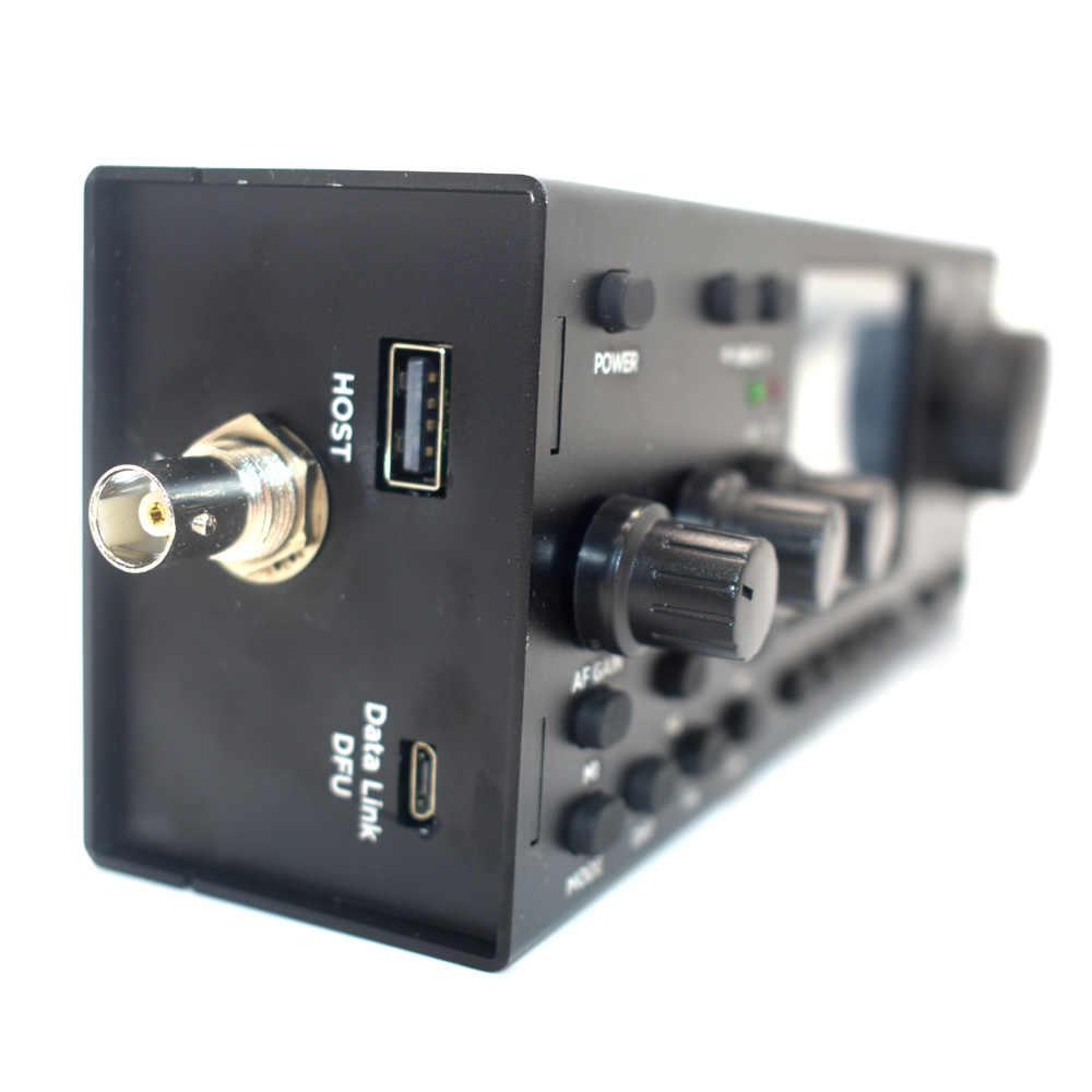 R928 Plus Muiti Mode TFT QRP HF SDR Transceiver RX:1 8-30MHz TX:ALL HAM HF  BANDS SSB(J3E) CW AM FM FREE-DV built-in battery