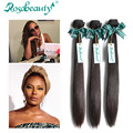 Eva Marcille Recommend Rosa Beauty Hair Products 3 Bundles of 8A Grade Brazilian Virgin Hair Straight  Top Quality Human Hair