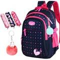 Рюкзак с бантом для девочек  вместительный школьный рюкзак с принтом в виде звезд  Лидер продаж