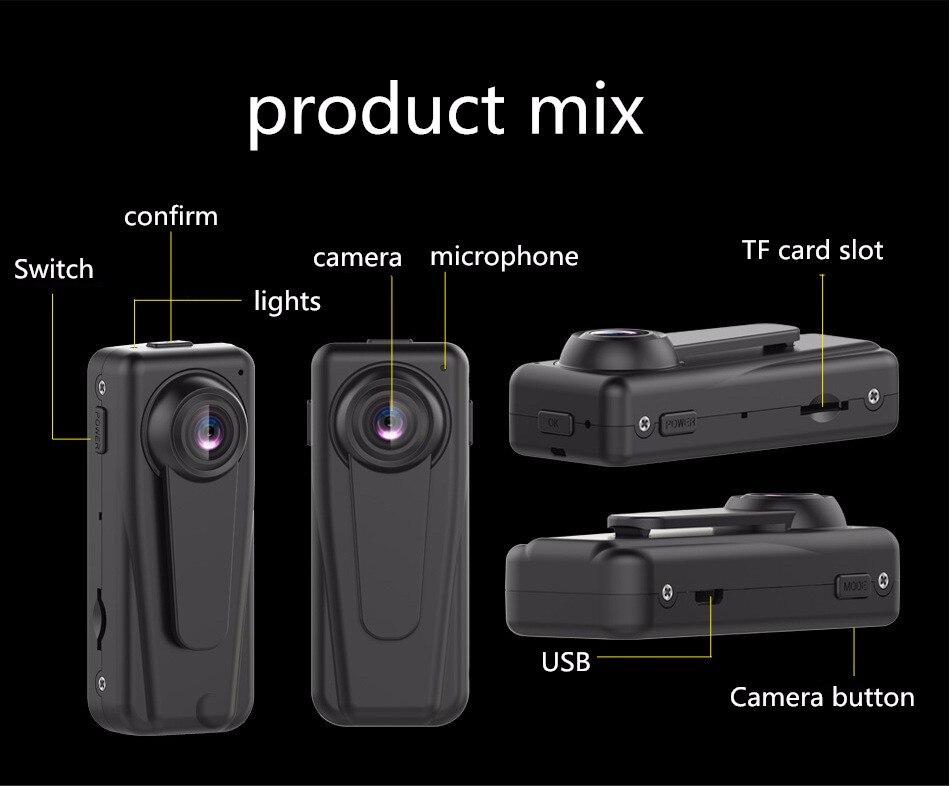 New Support 128GB F1 HD 1080P Sports DV Portable Mini Camera 140 Degree Audio Video Recorder Motion Detection Car DVR Dashcam