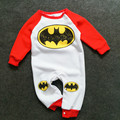 New Fashion Baby Boy Clothes Autumn winter Long Sleeve Baby Rompers warm Bebe Bat Man Jumpsuit Toddler Girls Halloween Clothes