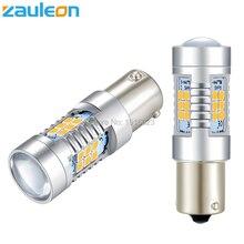 Zauleon 2pcs 1156 1157 P21W P21/5W 805 lumens LED Turn Signal Light BAU15S PY21W Yellow Amber LED Parking Lamp Car-Styling