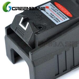 Greenbase тактический Глок лазерный прицел сзади красный лазер с целью Fit Airsoft Glock 17 18C 19 22 23 25 26 27 28 31 32 33 34 35 37 лазер