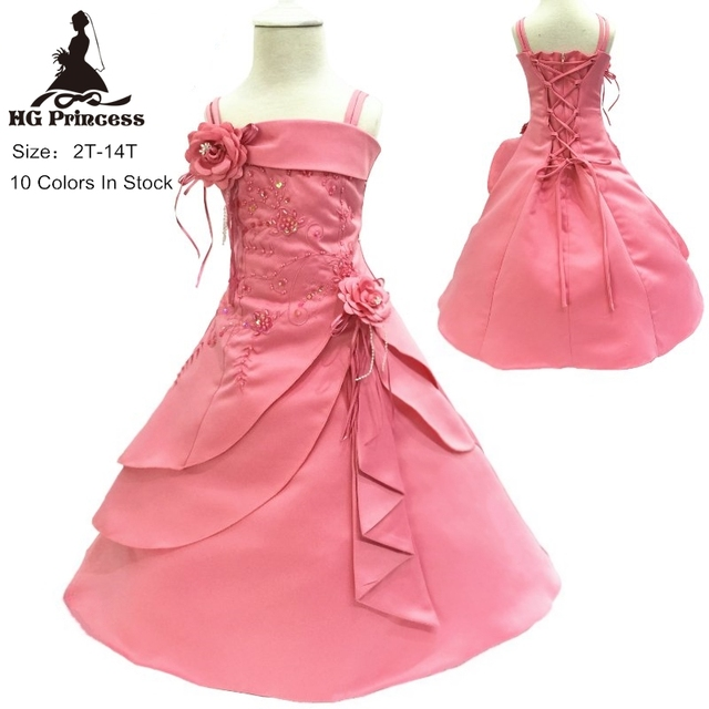 Pink Girls Party Dresses
