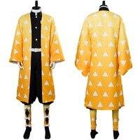 Аниме лезвие демона разрушений агатсума зенитсу косплей костюм наряд кимоно Хэллоуин Карнавальный Костюм