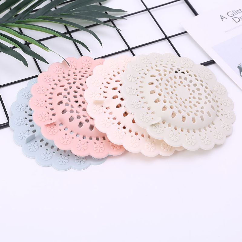 Hair Catcher Bath Drain Shower Tub Strainer Sink Cover Trap Basin Stopper Filter