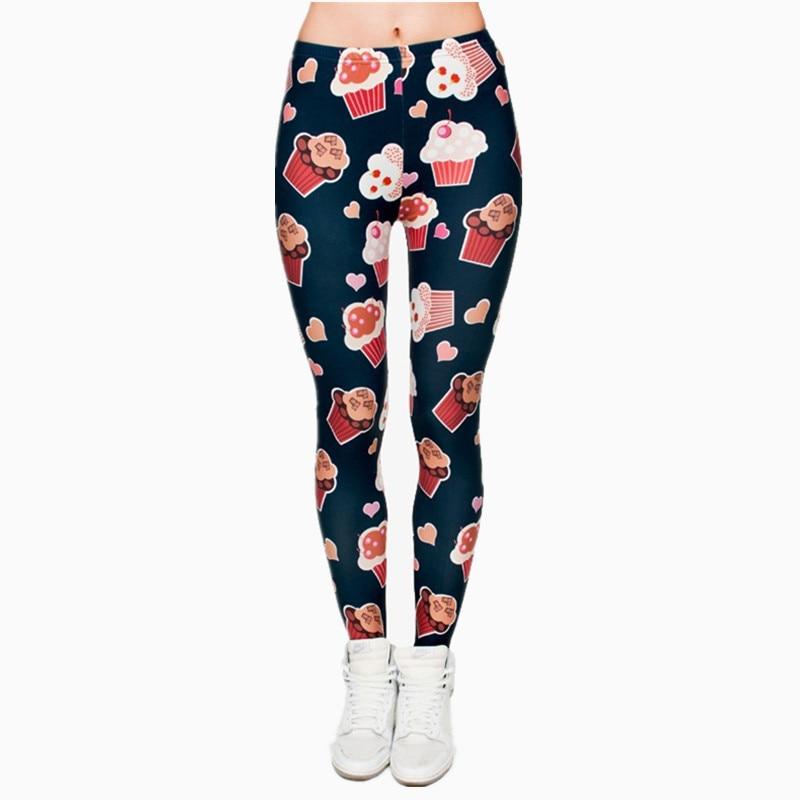 Brands Women Fashion Legging Aztec Round Ombre Printing leggins Slim High Waist  Leggings Woman Pants 10