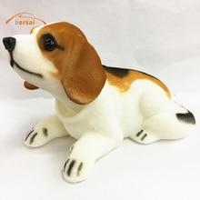 Bersai 6pcs Cute Funny Shaking Dog Tumbler Nodding Swing Pendulum Home or Auto Interior Decoration kids toys Gift