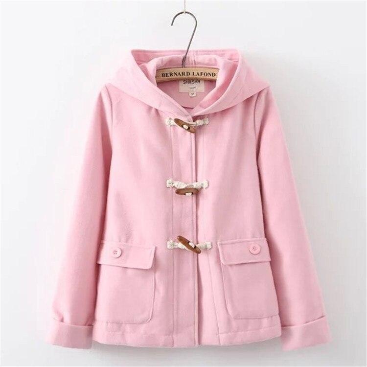 OLGITUM hoodies Black Pink Bear ears hood cute hoodies Winter Autumn font b Women b font