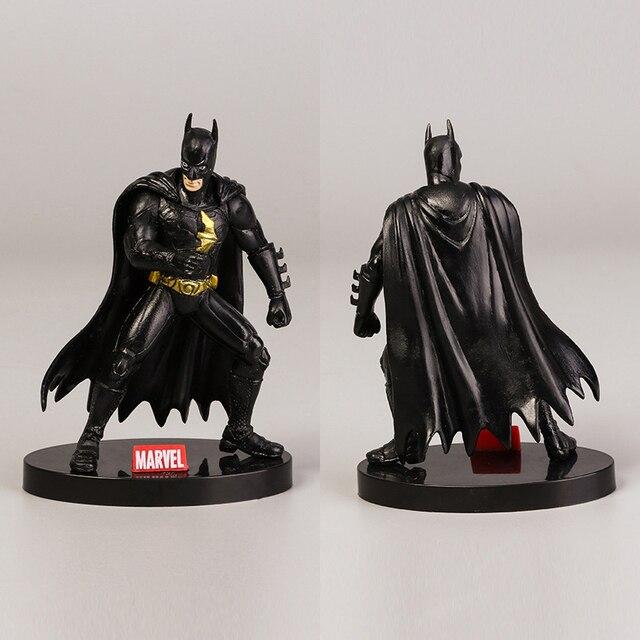 O Cavaleiro Das Trevas & Batman & Capitão América Avengers3 Nendoroid PVC Figura Coleção Ação PVC Modelo Brinquedos Presente Das Crianças Das Crianças 10 cm