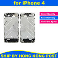 High Quality Chassis for iPhone 4 4G Middle Frame Bezel Midframe Housing Replacement Parts