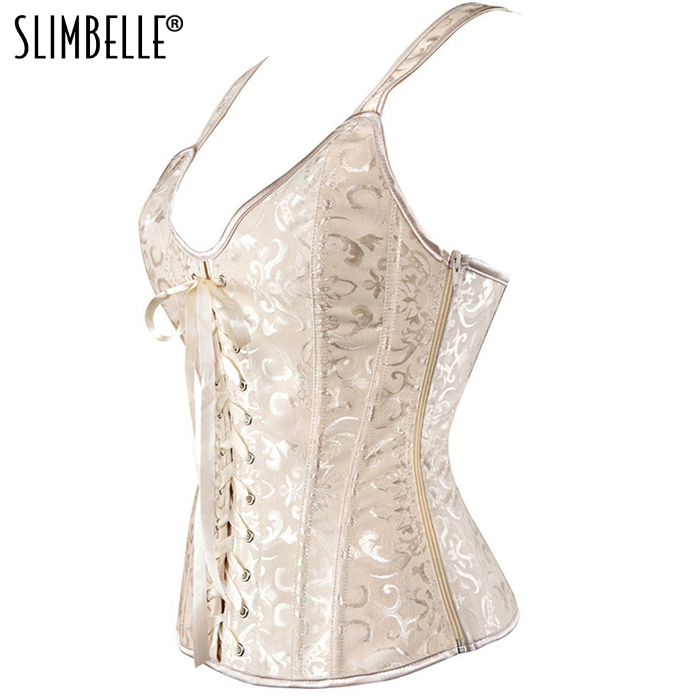 Women Steampunk Gothic Waist Trainer Overbust   Corset   Top Lace up Sexy Lingerie Vest Plus Size Shapewear   Corsets   and   Bustiers