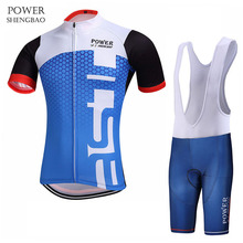 Фотография POWER SHENGBAO New Team Roupa Ciclismo Breathable Race Cycling Clothing/New Design Quick-Dry Race Bike Cycling Sets