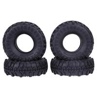 4pcs Set Rubber Tyre RC Crawler Car Wheel Tires For Off Road Vehicle SCX10 D90 Cimbing