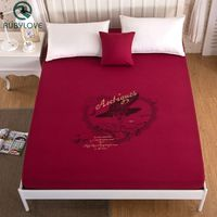 Ballet Girl Printed Bed Sheet With Elastic Bed Linen 2 Size Mattress Covers Fitted Sheet