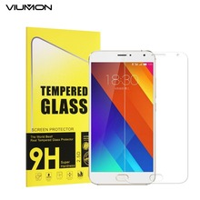 VIUMON Pro5 9H 2.5D Extremely Skinny Tempered Glass for Meizu Professional 5 Display screen Protector Premium Glass Movie with Retail Bundle