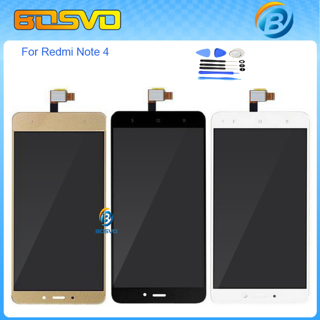 """Replacement for Redmi note 4 LCD display with touch screen digitizer For Xiaomi Redmi Note 4 Pro Prime lcd assembly 5.5""""+tools"""
