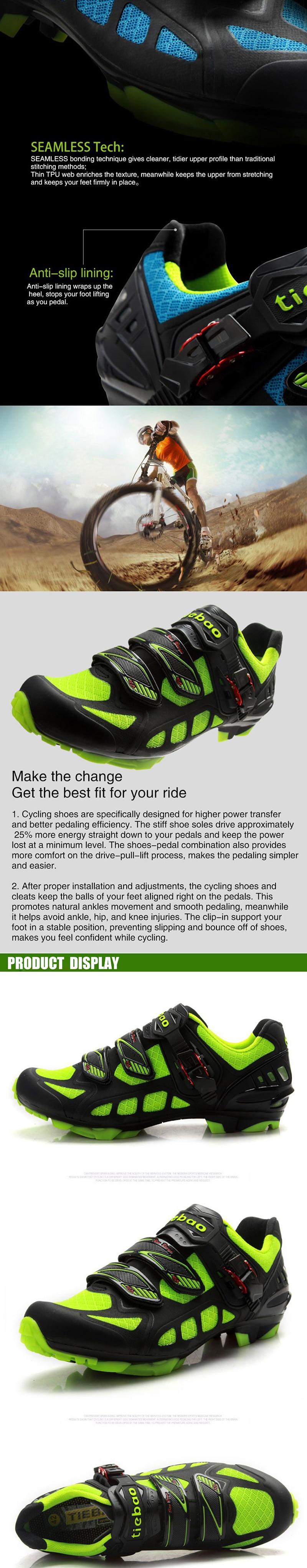 Ciclismo De Sapatilha Triatlon Montagne Autobloquantes Pédales Spd Vélo Tiebao Baskets Chaussures Hommes Mtb Respirant Femmes kPuXZi