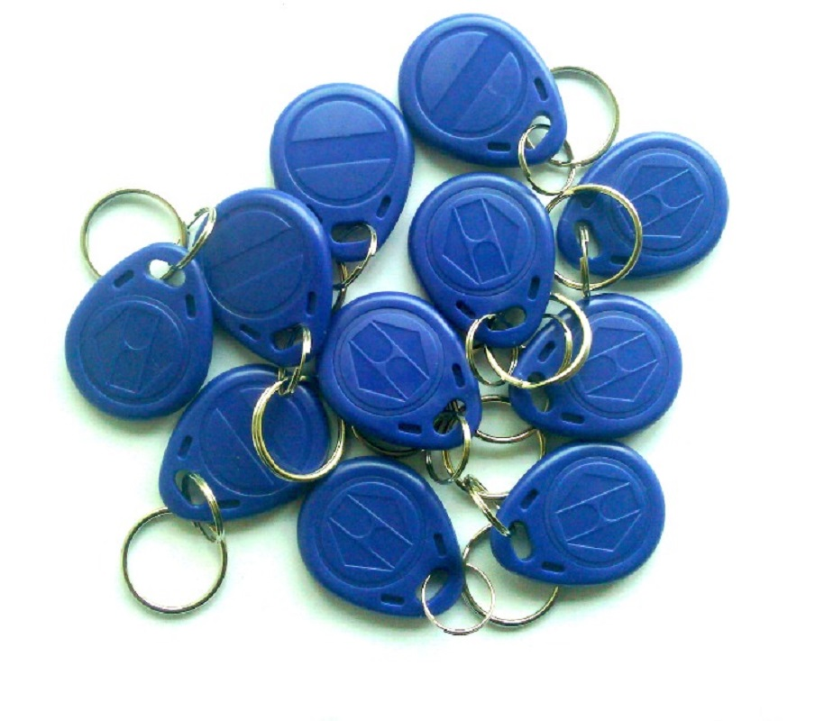 Frequency 125Khz Proximity RFID Smart Card Keyfobs turck proximity switch bi2 g12sk an6x
