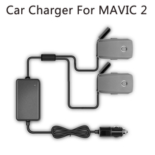 YX 1 à 2 chargeur de voiture pour DJI Mavic 2 Pro Zoom Drone batterie avec 2 batterie charge rapide voyage Transport chargeur extérieur