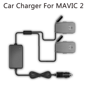 Image 1 - YX 1 to 2 Car Charger For DJI Mavic 2 Pro Zoom Drone Battery with 2 Battery Fast Charging Travel Transport Outdoor Charger