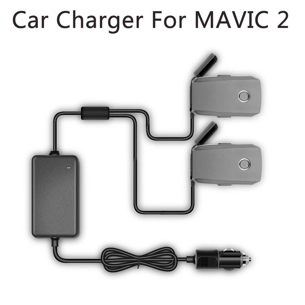 YX 1 zu 2 Auto Ladegerät Für DJI Mavic 2 Pro Zoom Drone Batterie mit 2 Batterie Schnelle Lade Reise transport Außen Ladegerät