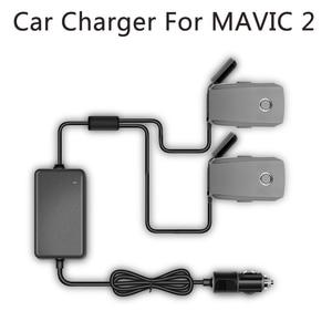 Image 1 - Yx 1 a 2 carregador de carro para dji mavic 2 pro zoom zangão bateria com 2 bateria carregamento rápido viagem transporte ao ar livre carregador