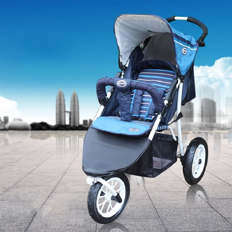 Baby Stroller Baby Stroller Tricycle Bb Car Infant Folding Wheel Shock Accessories European Baby Strollers baby stroller pram bb rubber wheel inflatable tires child tricycle infant stroller baby bike 1 6 years old bicycle baby car