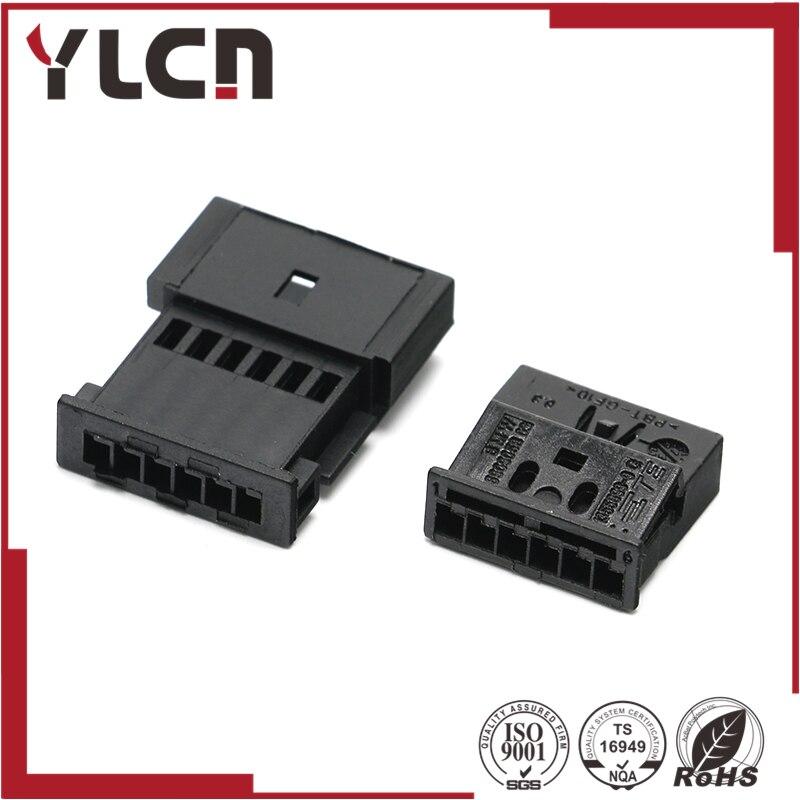 Freies Verschiffen 6 pin auto elektrische stecker pastic verdrahtung ...