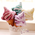 1pcs 25cm Summer Style 3D Delicious Icecream Cushion Stuffed Decorative mini ice cream Pillows Home Decoration