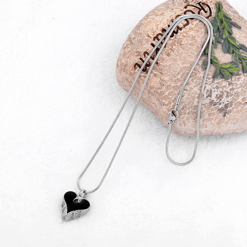 BG-121 Heart Charm Fashion Women Pendant Neckalce Jewelry 316L Stainless Steel No Fade Girlfriend Gift Love Necklace Brand