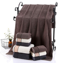 New Absorbent Cotton Bath Towels Bathroom Comfortable  Men/Women Beach Towel Super Outdoor Sport 70x140cm