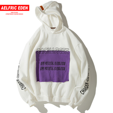 Aelfric Eden Patch Design Sweatshirts Men Thick Warm Hip Hop Pullover Hoodie Casual
