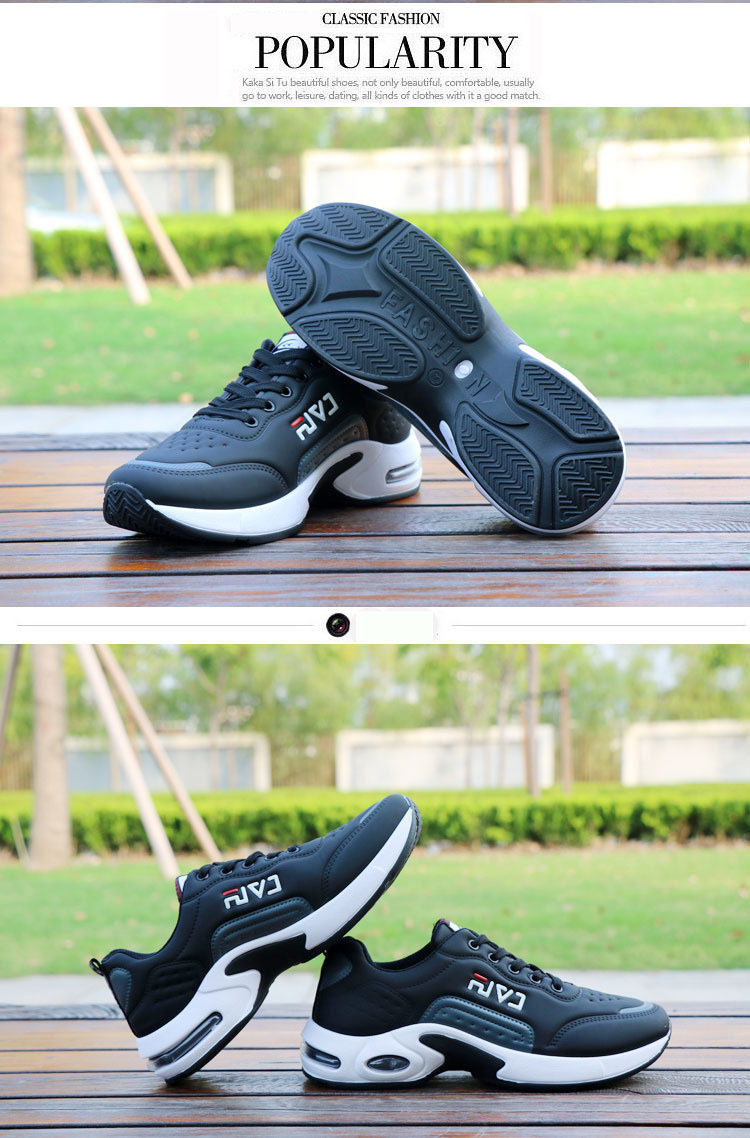 HTB1hDuDJVzqK1RjSZFoq6zfcXXau New Men's Casual Shoes Shock Absorption Cushion Shoes Campus Wind Non-Slip Shoes Leather Stitching Men's Casual Shoes