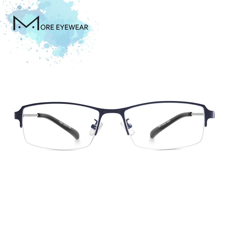 Alloy Man Glasses Frame Metal & TR90 Prescription glasses optical Male Frame Blue light blocking glasses Computer glasses