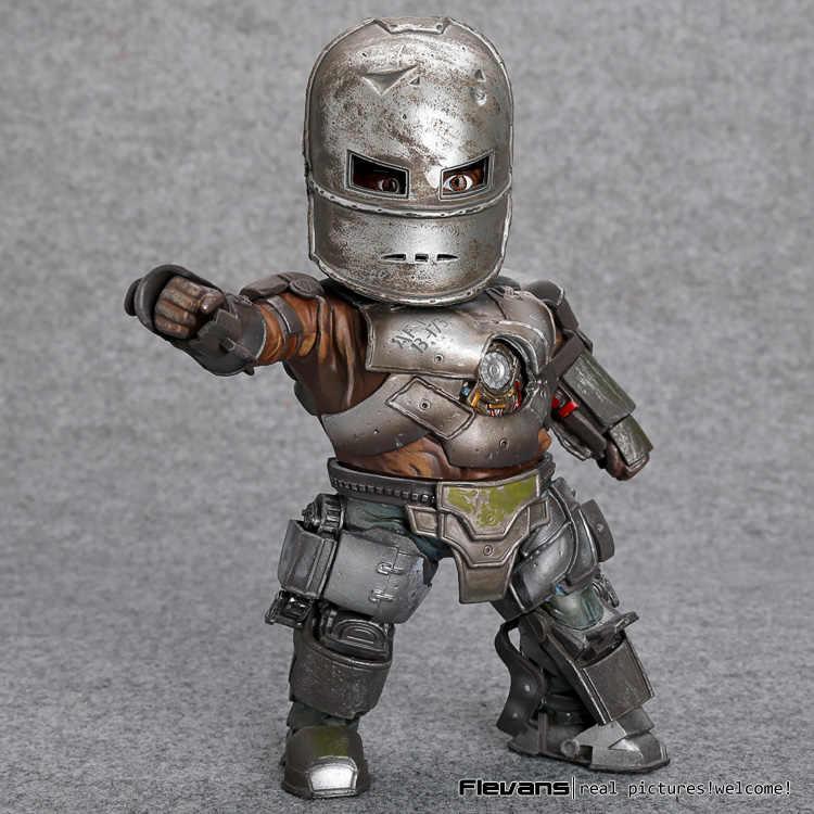 """Marvel Homem De Ferro 3 Mark 1 Ataque Ovo Figura de Ação PVC com Luz LED Collectible Modelo Toy 8 """"20 cm"""