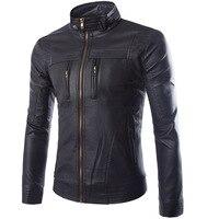 Michael Jackson Skulls Leather Biker Jackets Men Coats Slim Motorcycle Bomber Jacket Mens Leather Jackets And Coats