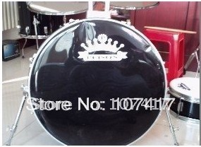 2016 Limited Sale 10 >24 Inch 1286 5-drum Kit Drum Pad Baqueta Percussion Wholesale, Genuine One Hundred Barrel Drum Thick Skin