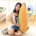 2017 New 3D Simulation Corn Plush Pillow Toy Realistic Corncob Cushion Doll 100cm 40inch Free Shipping 1pcs Children Present Big