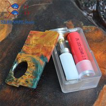 Original Yiloong Fogger Aurora Squonk Box Mod 8ml Silicone Bottle 20700 18650 battery Silicone  Bottle Auto-adjusting Vape Mods цена в Москве и Питере