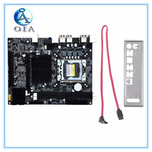 new X58 original motherboard LGA 1366 DDR3 boards for i3 i5 i7 cpu SATAII USB2.0 16GB X58 desktop motherboard
