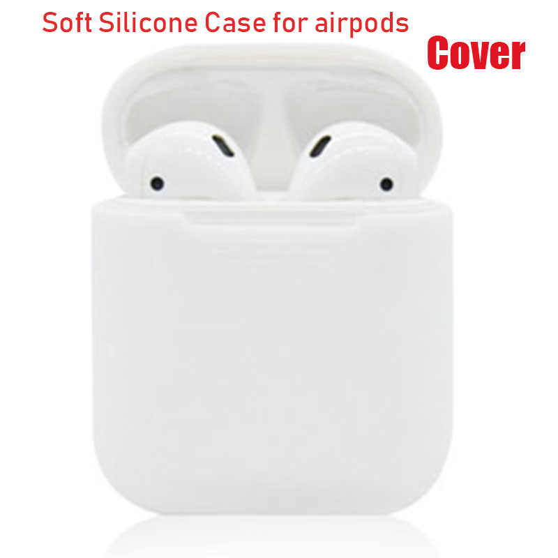 Silicone Case Cover For Apple Airpods cover For i10 i11 i12 i13 i14 i18 TWS Earbud earphone cover for iphone air pod cover
