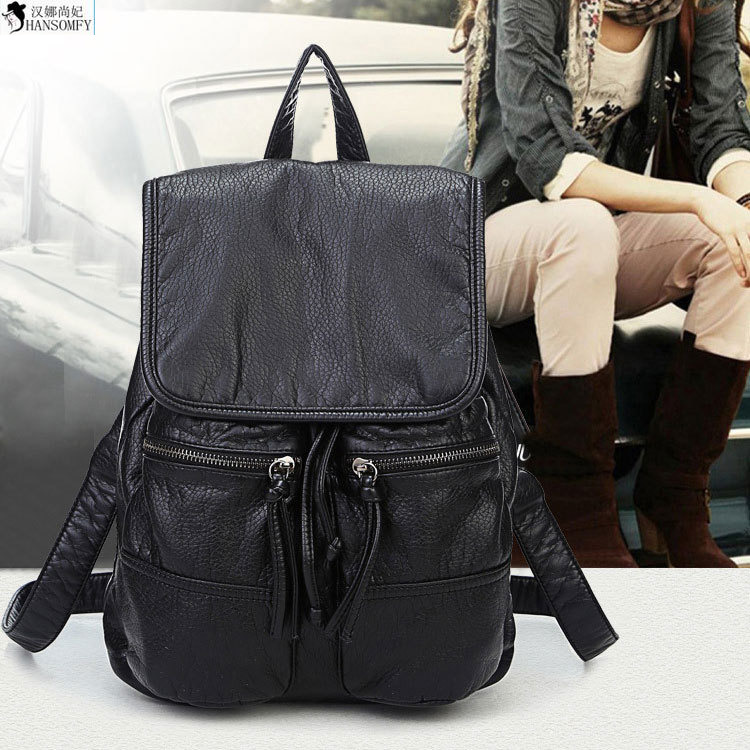 The Star Of The Same Paragraph Why Sheng Tang Yan Black Customers TV Backpack Computer Bag