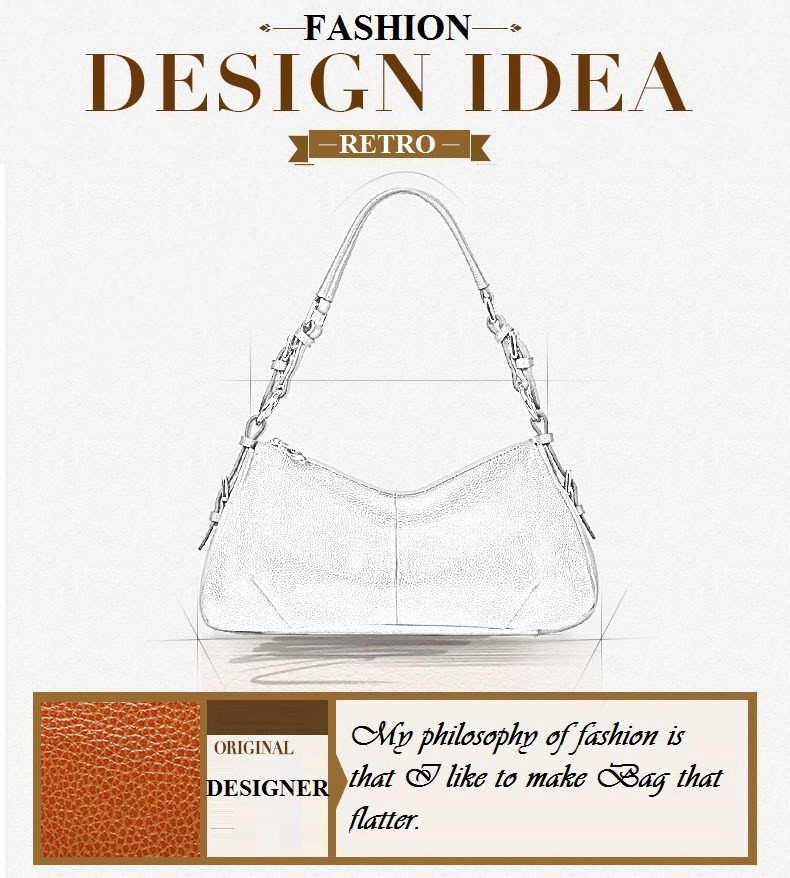Ladies Handbags 2016 New Womens Bags And Purses Solid Women Leather Shell Bag Bags Zipper Retro Designer Handbags High Quality_031