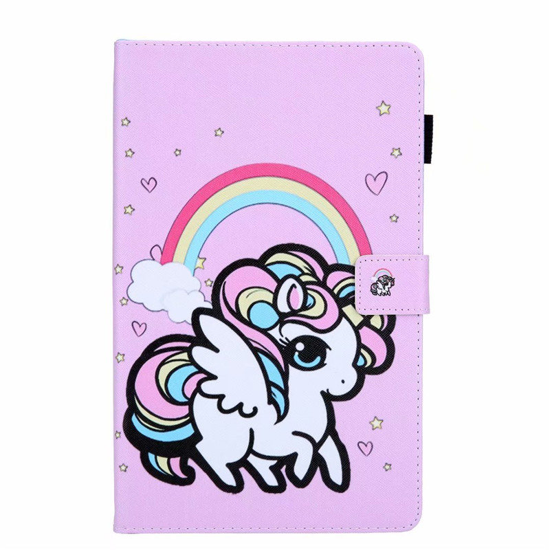 Cute Cats Unicorn Leather Case For Samsung Galaxy Tab A T510 T515 10.1\