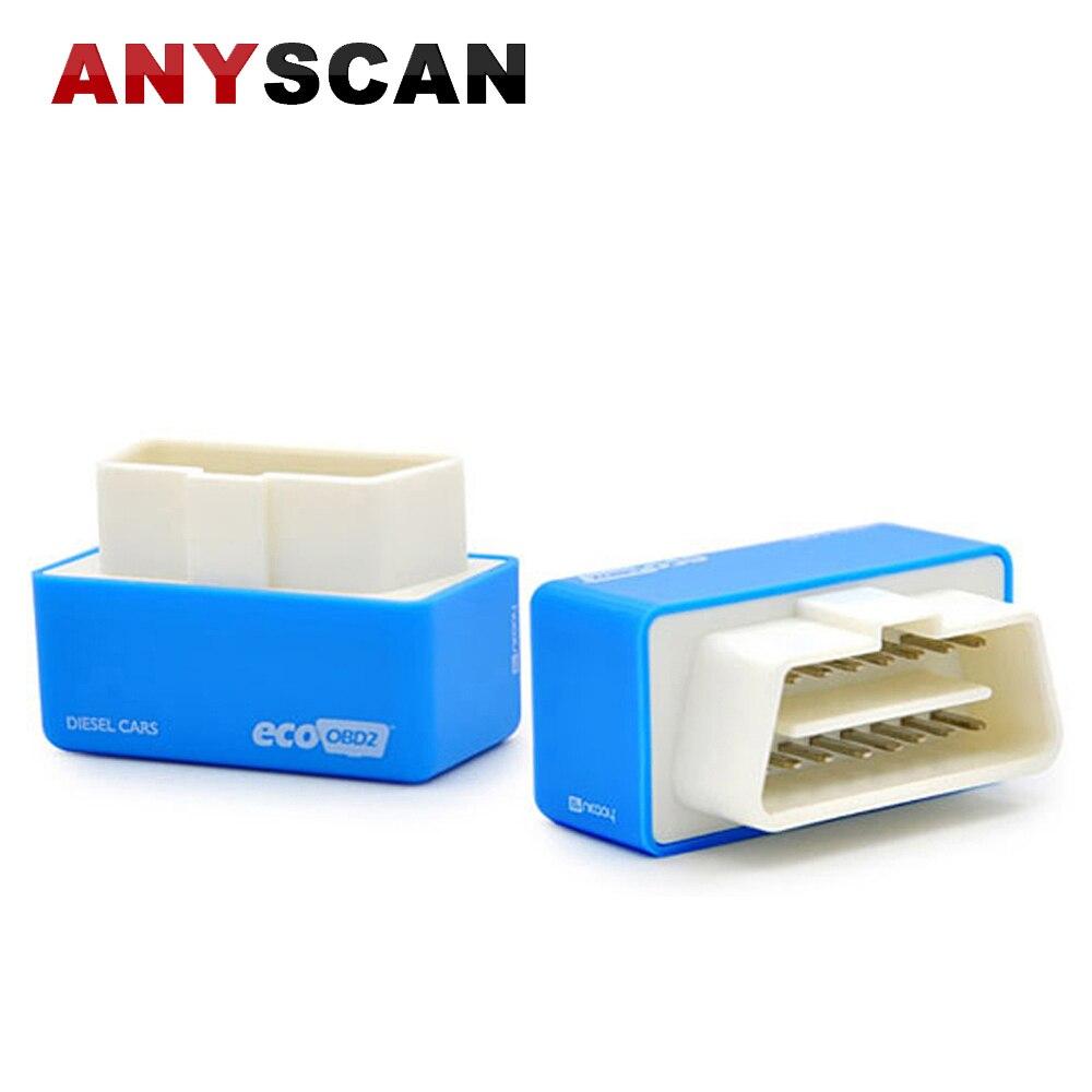 Бесплатная доставка Best качество EcoOBD2 Diesel чип-тюнинг автомобиля коробка подключи и Драйв OBD2 чип тюнинг коробка меньше топлива и низкий урове...