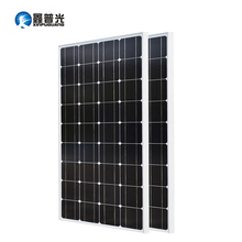 Xinpuguang 200w Solar Panel Kit 2*100w 1175*530*25MM Solar Photovoltaic PV Monocrystalline Silicon Cell Home Power Charge China